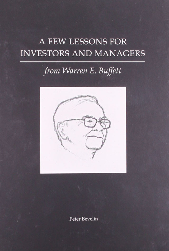 A few lessons for investors and managers- Warren Buffet